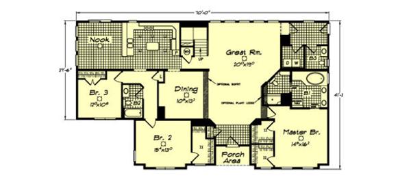 Danbury - floorplan