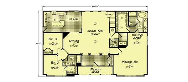 Danville IV - floorplan