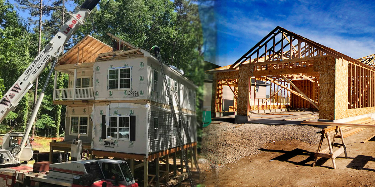 Modular Homes vs. Stick Built Homes